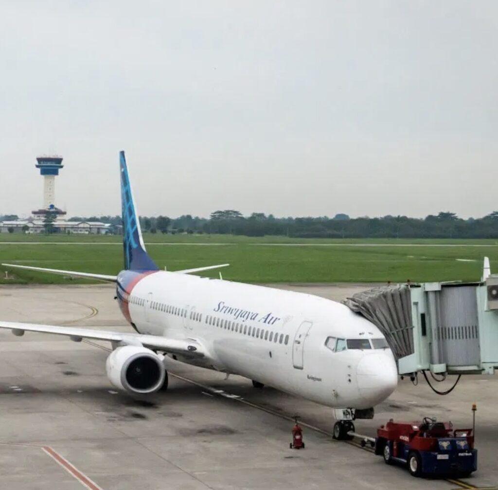 Sriwijaya airlines plane Indonesia