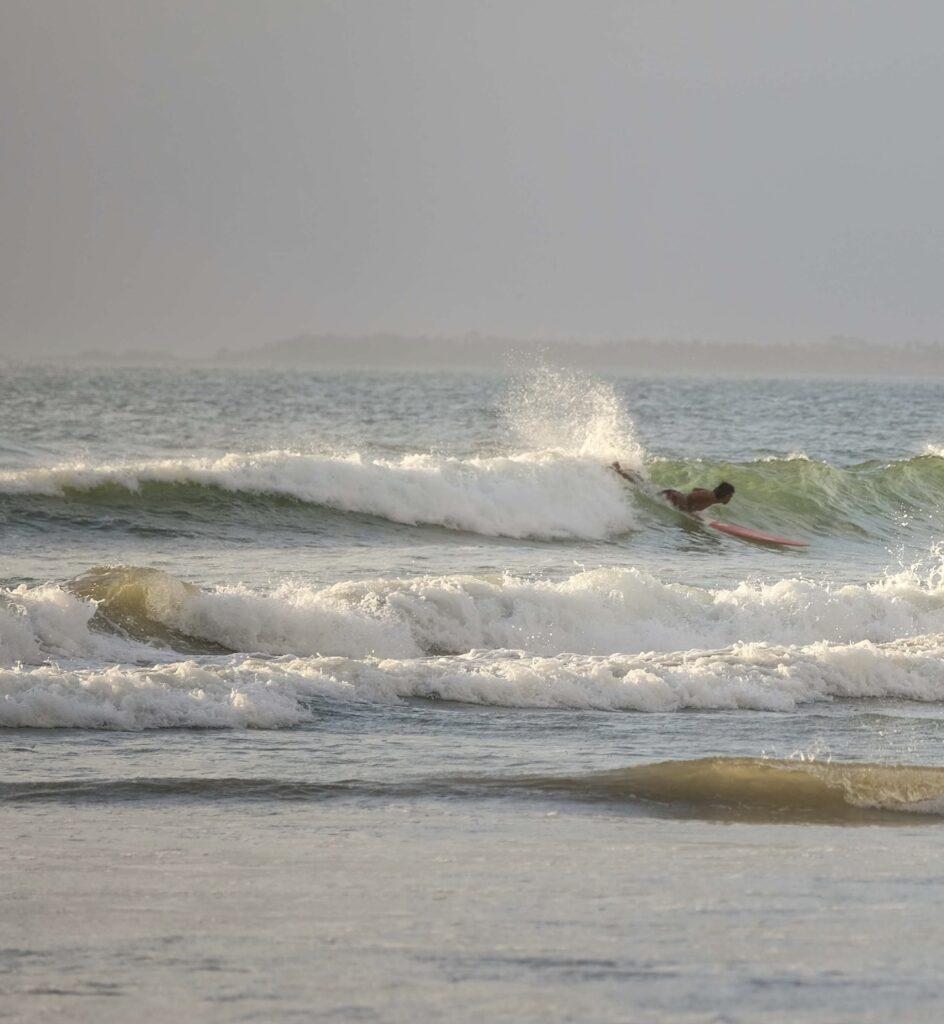 surfing beach Bali