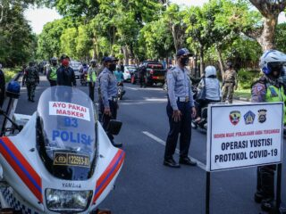 Bali Authorities Inspect Tourist Area Of Ubud For Safety Protocols