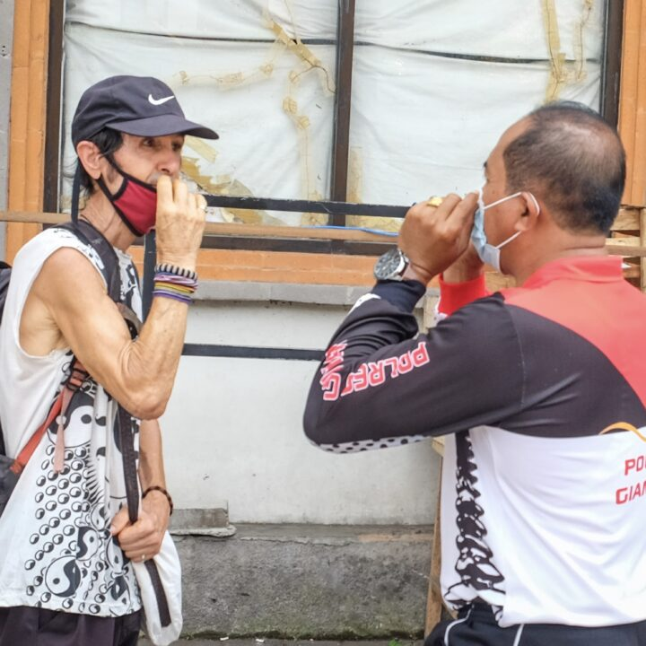 Bali Authorities Test Those Without Face Masks In Public