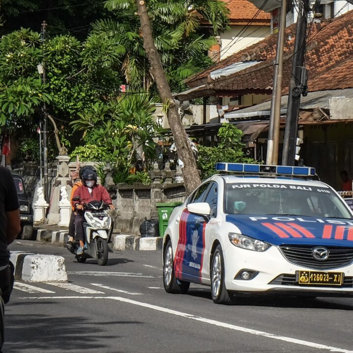Bali Police Arrest Two Suspects For Car Break-ins
