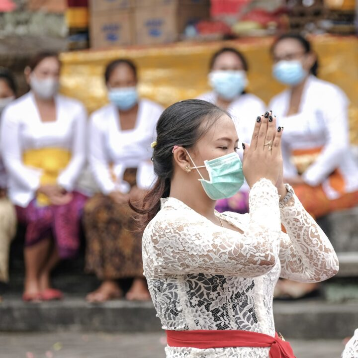 Japanese Model Collects Donations To Help Bali Community