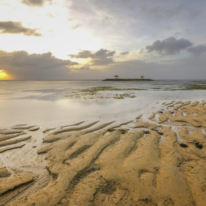 Massive Tidal Waves Impact Kuta Beach As Peak Of Rainy Season Approaches