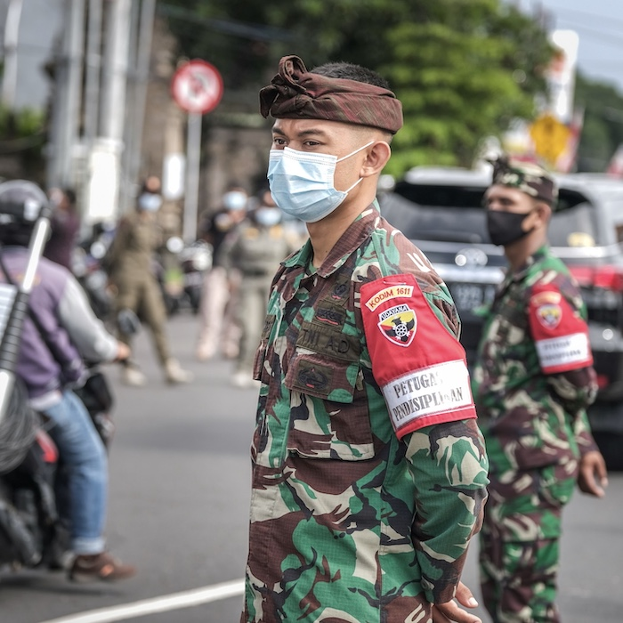 army masks operation