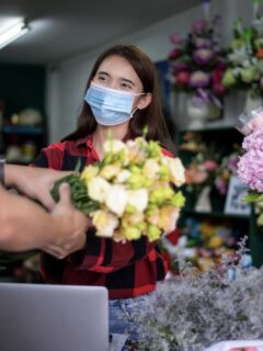 mask florist