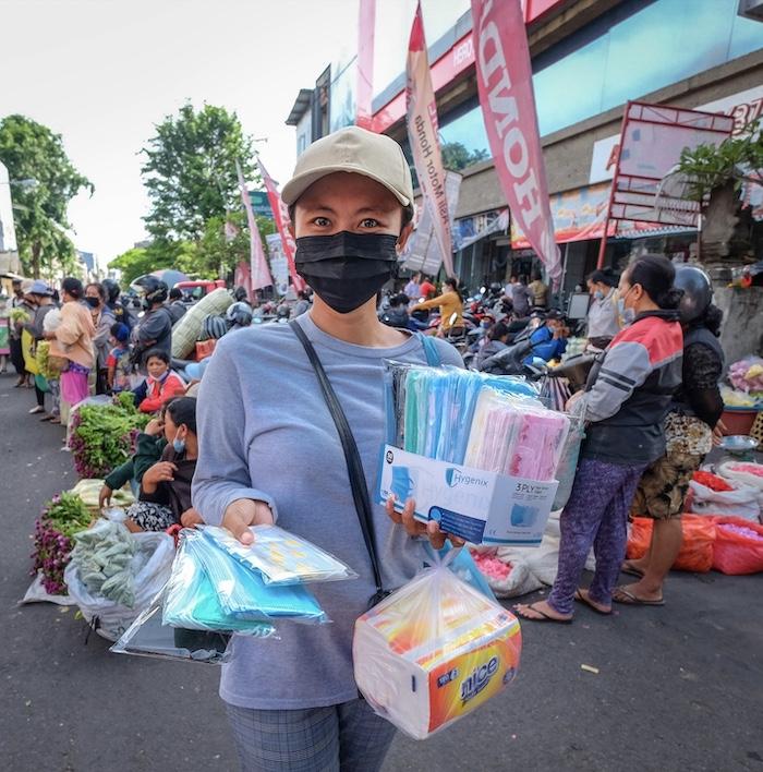 mask vendor market
