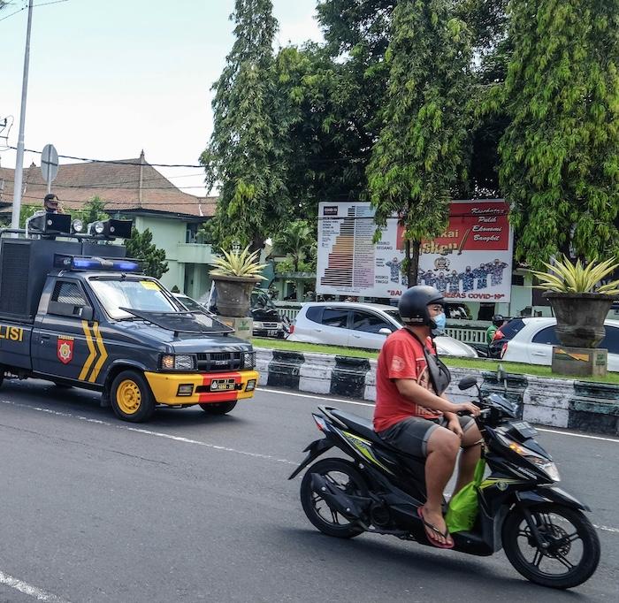 police patrol car
