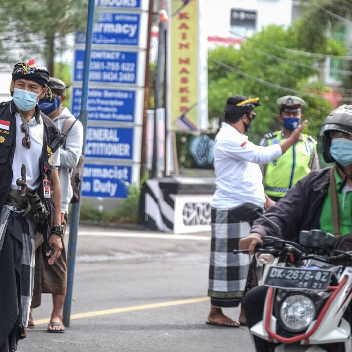 Central Gov't Extends Partial Lockdown In Bali Again