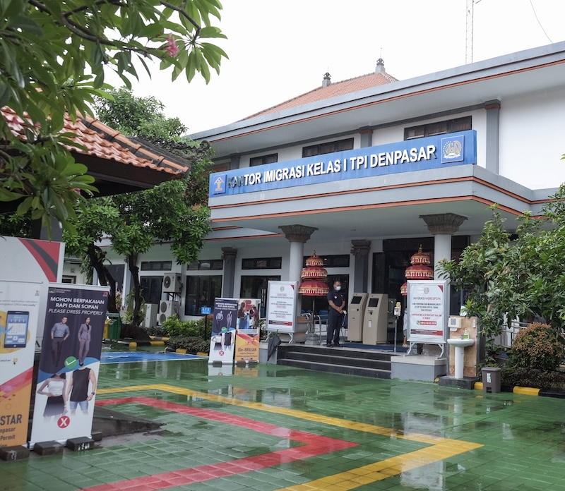 Denpasar immigration office