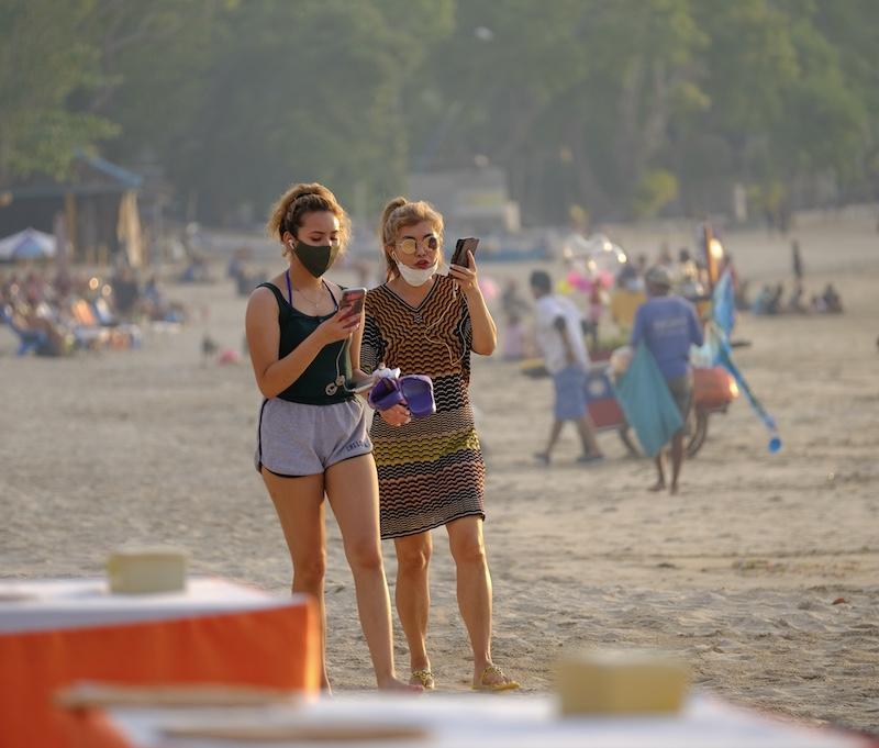 Jimbaran beach masks