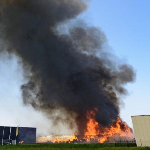 Storage Warehouse Burned Down Due To Negligence