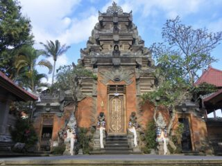 Ubud In Lockdown To Welcome The President