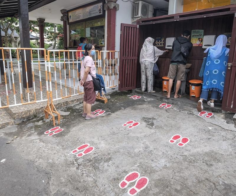 hand wash station locals