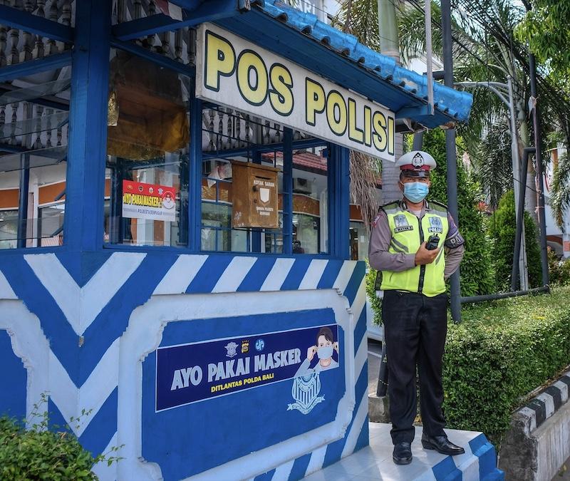 police officer mask protocols
