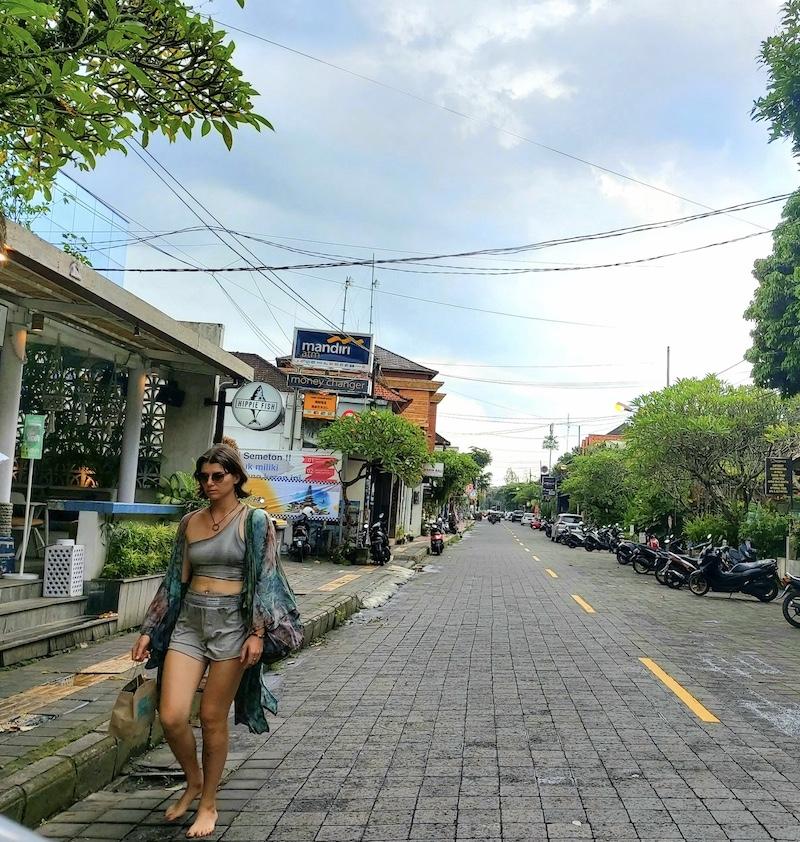 tourist in Ubud