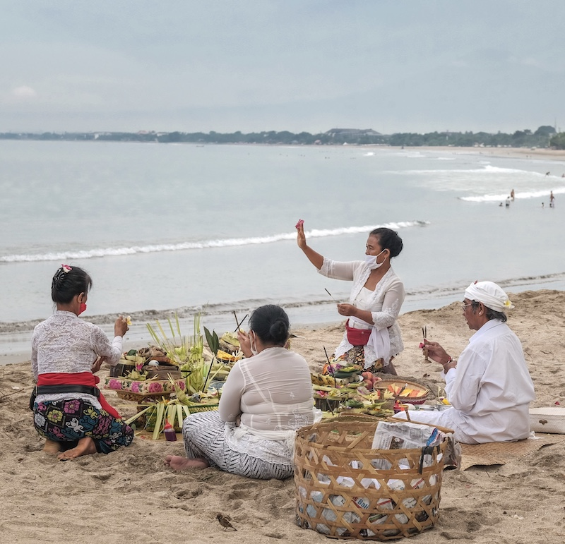 traditional Bali locals