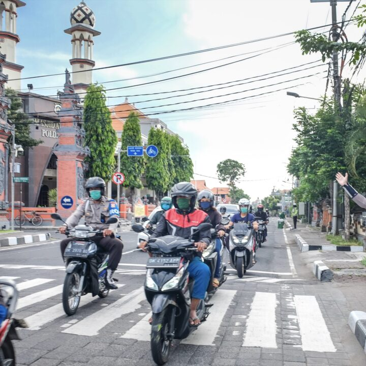 Bali Police Seize Motorbikes With Loud Exhaust