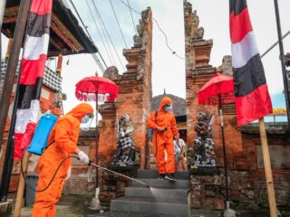 The Covid-19 Special Forces has decided to focus more on inspecting and supervising the implementation of prevention protocols in several Hindu Temples during Kuningan Celebration.