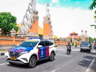 A 44-year-old man named David from Sweden has been arrested by the South Denpasar Police Officers on Friday (16/4).