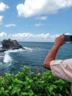 Several Villages in Tabanan including Beraban Village where the Tanah Lot Temple is located have been appointed as green zone areas and will soon be included in the Covid-19 Free Corridor program.