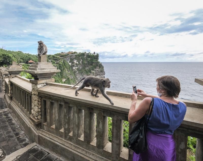 tourist Bali