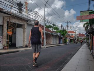 Bali authorities have apprehended a 60-year-old man named Albani from Italy for being homeless and begging in Bali since the Covid-19 pandemic struck.