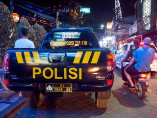 A truck driver named Ivan Hauser Tahun from So'e, East Nusa Tenggara has been arrested after running over a traffic police officer in Bali.
