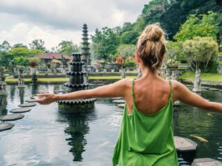 A famous tourist attraction in Karangasem called Tirta Gangga Water Palace has lost hundreds of their koi fish from an incident that caused the fish pond to break down.