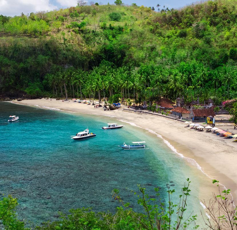 Beach in Nusa Penida