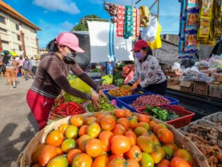 Local vendors at the Klungkung Public Market have been receiving zero income since the emergency partial lockdown was implemented on the 3rd of July 2021 in Bali.