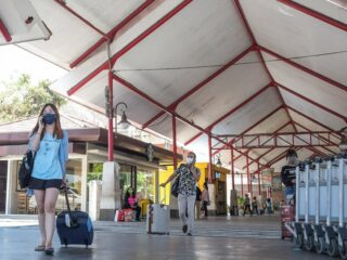 Officials from the Bali Tourism Agency have confirmed that the number of domestic visitors in Bali has dropped to around 500 visitors per day.