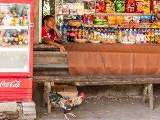 Local vendors on Penimbangan Beach, Buleleng have confronted authorities after refusing to close their businesses from operating during the emergency partial lockdown.