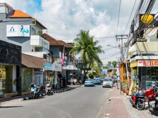 A Tattoo shop in Seminyak has handed out free food aids to many affected tourism workers.