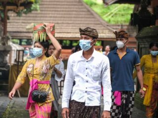 Officials have announced that all Bali regions have officially turned into a Covid-19 epidemiological orange zone.