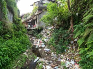 Activists from Tabanan Sungai Watch have been collecting large amounts of garbage after installing trash barriers on their rivers.