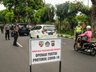 Authorities from the Klungkung Covid-19 Handling Task Force have decided to release 3 offenders without fines.
